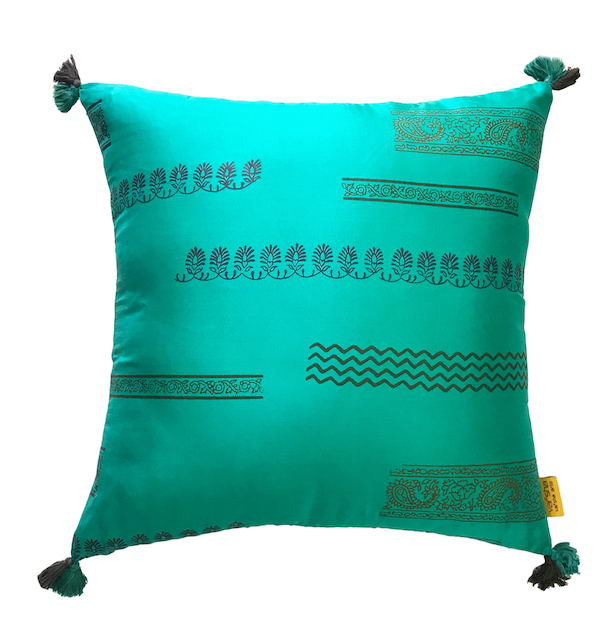 Aquamarine Cushion