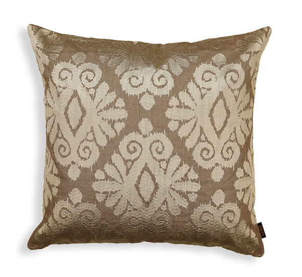 Glowing Ikat Cushion