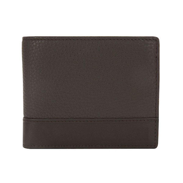 Leather Wallet: Topflight Trifold